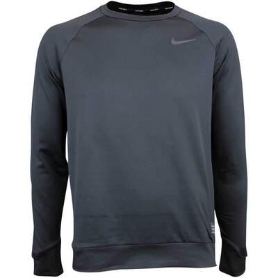 Nike Golf Jumper NK Dry Brushed Crew Black AW18