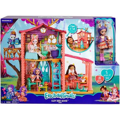 Enchantimals Cosy Deer House Playset