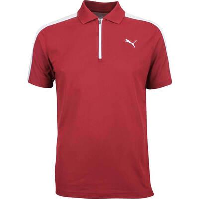 Puma Golf Shirt T7 Polo Pomegranate LE AW18