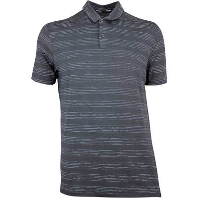 Nike Golf Shirt NK Dry Heather Texture Anthracite AW18