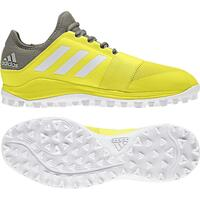 Image of Adidas Divox Hockey Shoes 2018 Yellow/Trace Cargo #UK 11