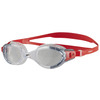 Image of Speedo Futura Biofuse Flexiseal Swimming Goggles - Red/Clear
