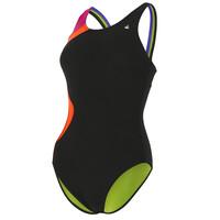 Aqua Sphere Amelia Ladies Swimsuit - Black/Pink, 40