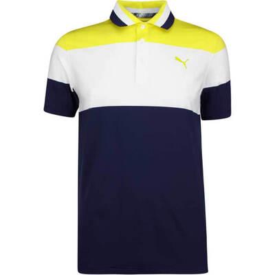 PUMA Golf Shirt Nineties Blazing Yellow SS19