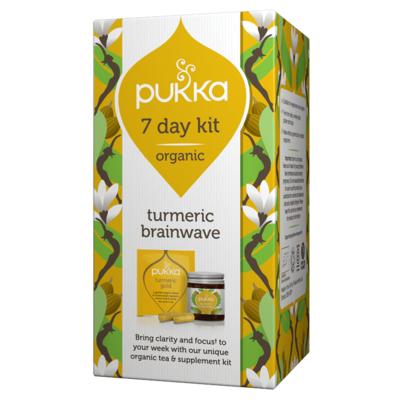 Pukka Turmeric Brainwave 7 Day Kit