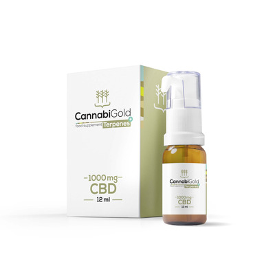 Cannabigold Balance 10% 1000mg CBD Oil 12ml