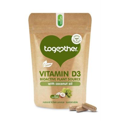 Together Vegan Vitamin D3 30 Capsules