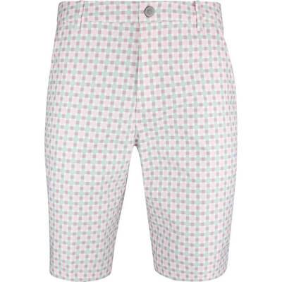 PUMA Golf Shorts Jackpot Plaid Pale Pink SS19
