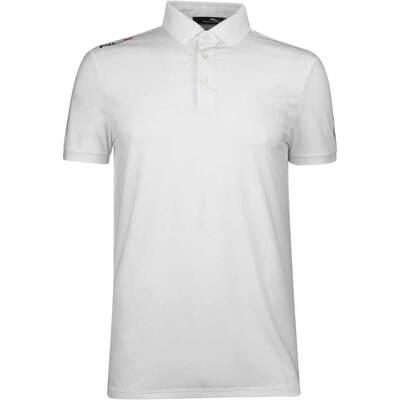 RLX Golf Shirt Solid Airflow Pure White SS19