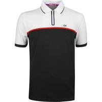 GFORE Golf Shirt Zip Polo Black Ink SS19