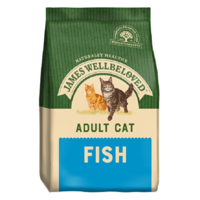 James Wellbeloved Life Stage Fish Adult Cat