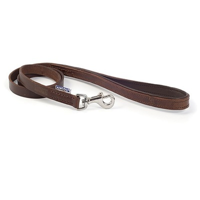 Ancol Vintage Leather Padded Dog Lead