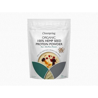 Clearspring Organic 100% Hemp Seed Protein Powder 350g