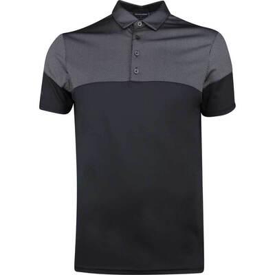 Galvin Green Golf Shirt Milton Black SS19