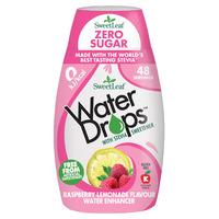 Natural Stevia Water Drops Raspberry Lemonade 48ml