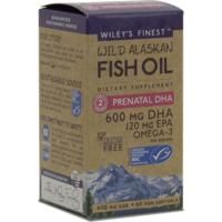 Wild Alaskan Fish Oil PRENATAL DHA 600mg 60's