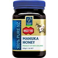 MGO 100+ Pure Manuka Honey 500g