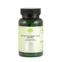B5 Pantothenic Acid 500mg 60's