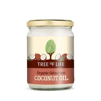 Tree of Life Organic Odourless Coconut Oil 500ml