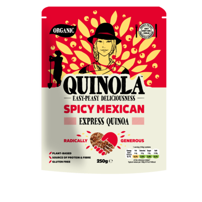 Quinola Mothergrain Express Quinoa Spicy Mexican 250g