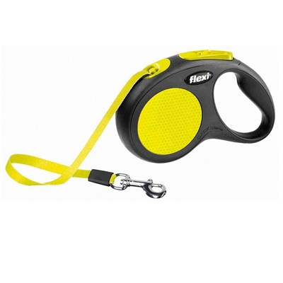 Flexi New NEON Retractable Tape Dog Lead