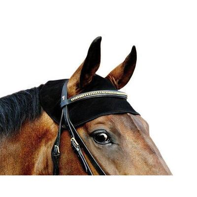 Back on Track® Equine / Horse Head Cover - Black Small