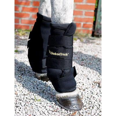 Back on Track® Equine / Horse Royal Quick Wraps - Small Black