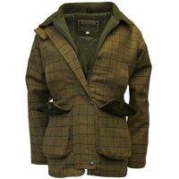 Walker & Hawkes Ladies' Beige Tweed Shooting Coat - 8
