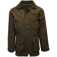 Walker & Hawkes Mens Brown Tweed Shooting Country Coat / Jacket - S