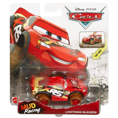 Disney/Pixar Cars Xtreme Racing Series Mud Racing Lightning McQueen