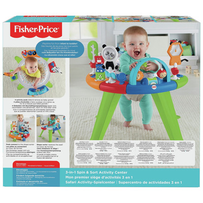 Fisher Price 3 In 1 Spin Activity Centre