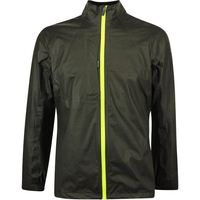 Galvin Green Waterproof Golf Jacket - Ashton Shakedry - Grey - Lime LE