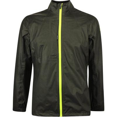 Galvin Green Waterproof Golf Jacket Ashton Shakedry Grey Lime LE