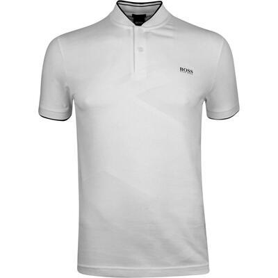 BOSS Golf Shirt Pariq Training White PF19