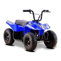 Image of Funbikes 24v 250w Bambino Blue Kids Electric Quad Bike