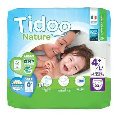 Tidoo Nappies Size 4+ - 23 Nappies