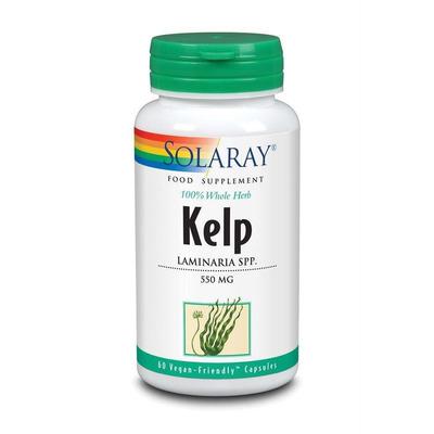 Solaray Kelp 60 Capsules