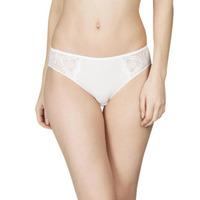 Image of Maison Lejaby 31663 Maison Lejaby Demoiselle Bikini Style Briefs 31663 Ivory (Lys) 31663 Ivory (Lys)