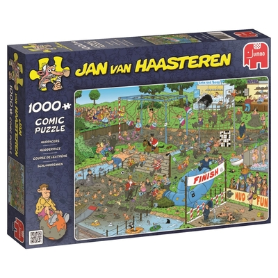 Jumbo 19064 Jan Van Haasteren Mudracers Jigsaw Puzzle (1000 Piece)