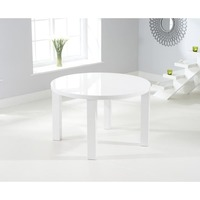 Mark Harris &pipe; Ava 120Cm Round High Gloss Dining Table