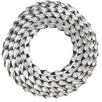 Pacific Lifestyle &pipe; Silver Metal Round Wall Mirror