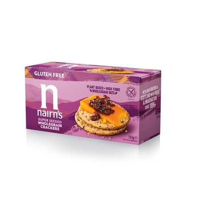Nairn's Gluten Free Super Seeded Crackers 137g