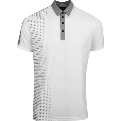 Galvin Green Golf Shirt Moe White AW19