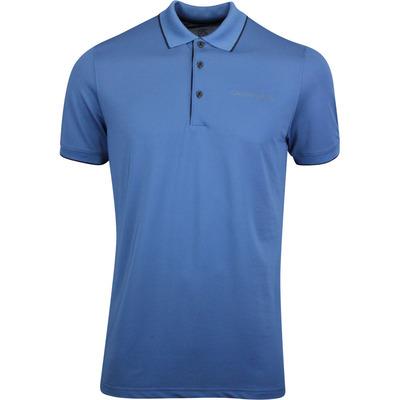 Galvin Green Golf Shirt Marty Tour Ensign Blue AW19