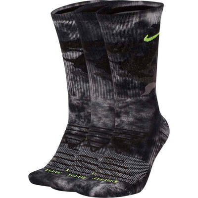 Nike Golf Socks Everyday Max Crew Grey Camo AW19