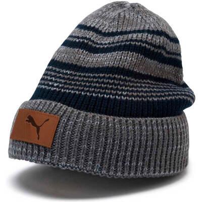 PUMA Golf Hat Habit Beanie Quarry AW19