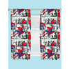 Spiderman Curtains - Metropolis. 66 x 72 inch