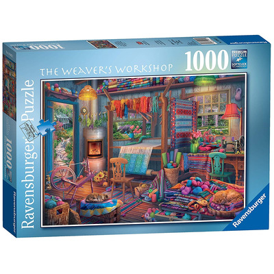 Ravensburger 14843 Weavers Workshop 1000pc Jigsaw Puzzle