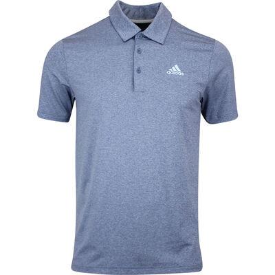 adidas Golf Shirt Novelty Heather Polo Tech Ink AW19