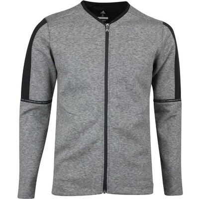 adidas Golf Jumper Adicross Fleece Cardigan Black AW19